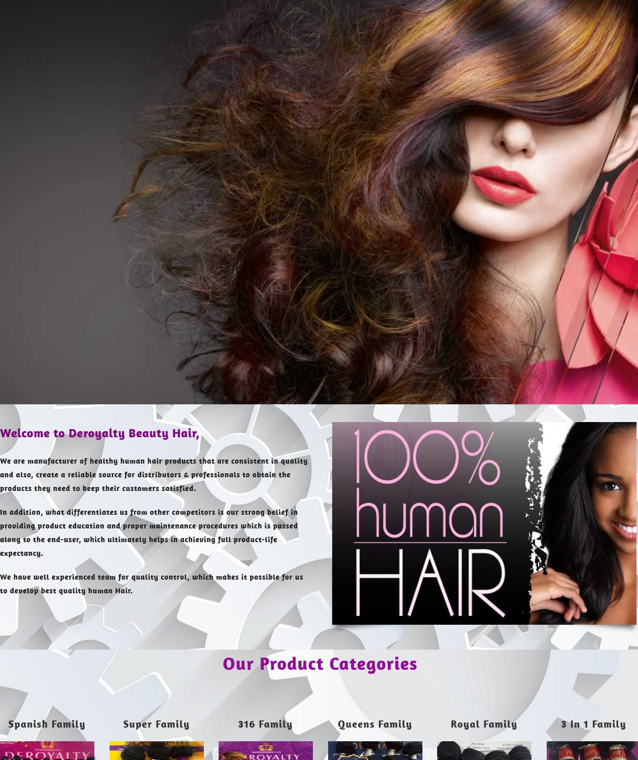 Combz Communications Recent Work 4 Deroyalty Beauty Hair – Professional High Quality Manufacturer Of Hair
